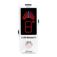 Donner New DT Deluxe Guitar Tuner Pedal ±0.1 Cent for Guitar & Bass Best