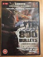 800 Bullets DVD 2002 Spanish Cult Spaghetti Western Homage Film Movie