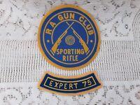 Vintage Treaty Oak Long Rifle Black Powder Gun Club Patch