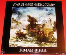 Grand Magus: Iron Will LP Vinyl Record 2014 Rise Above UK Records RISELP113 NEW