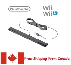 Wired Remote Sensor Bar Receiver Inductor for Nintendo Wii and Wii U Console