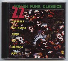 22 POLISH PUNK CLASSICS: DEZERTER, ARMIA, SIEKIERA, KSU, TZN XENNA