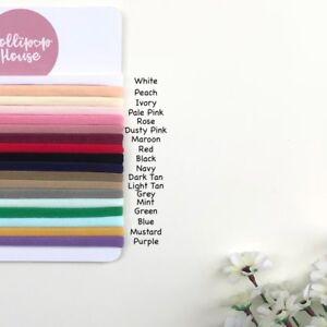 Thin 10 Pieces - Wholesale Nylon Headbands bulk Elastic One Size Fits Baby Adult