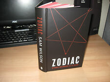 Sam Wilson Zodiac *Signed Lined Numbered pre-release HB 1st debut crime thriller