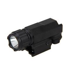 Tactical 2000Lm LED Rifle/Shotgun Flashlight Torch Hunting Light Lamp Outdoor