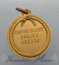 Medaglia con Cofanetto Esposizione Internazionale Canina - Arezzo