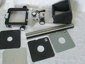 Arca Swiss 6x9cm View Camera Accessories Lens Board Bellows Rail Back
