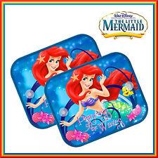 Original Disney Ariel Ventana Coche Visera De Sol tonos UV Niños Niños Bebé 2 Pc Nueva