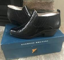 Giorgio Brutini Men's Snake Skin Boots Size 8.5M