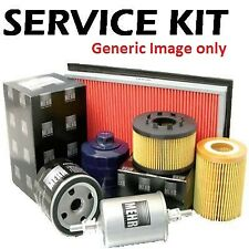 Fits Note 1.6 E11 Petrol 03-14 Plugs,Air,Cabin & Oil Filter Service Kit n9p