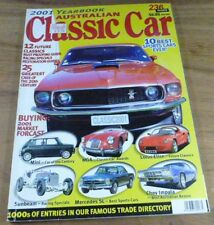 2001.CLASSIC CAR.MGA.HEALEY 3000.FORD MUSTANG.IMPALA.PACKARD.RILEY IMP.AUSTIN 7