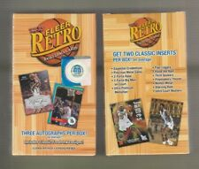 2012/13 Fleer Retro Basketball One Mini Box Sealed Mint 3 Autos/Box
