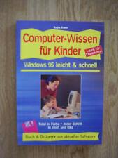 Buch Computer-Wissen für Kinder Windows 95 leicht & schnell von Regine Kramer