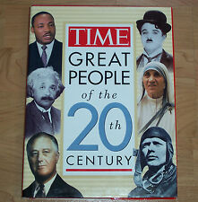 TIME ~ GREAT PEOPLE of the 20th CENTURY ~ Hardcover, 1996 - 1st Edition