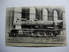 ALG03 - ALGERIAN STATE RAILWAYS - STEAM LOCOMOTIVE Original POSTCARD Algeria