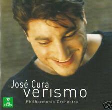 Jose Cura - Verismo ( 17 Track Erato CD ) NEW