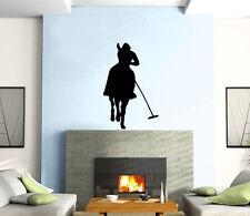 Polo Horse Horseman Rider Mural Wall Art Decor Vinyl Sticker z222