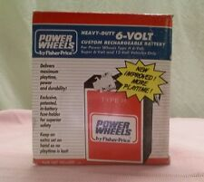 Powerwheels type H 6-volt battery. Hard to find!!! S03