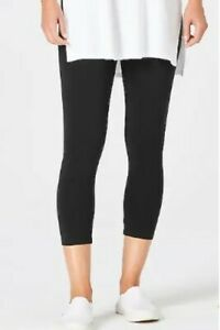 J. Jill Plus Size Navy Blue Slim Pima Ankle Leggings Stretch Waist Pants 1X