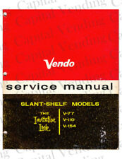Vendo Service Manual - V-77, V-110, V-154 (41 Pages) .Pdf Delivered by Email