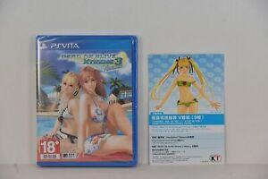 PSV PS Vita DEAD OR ALIVE Xtreme 3 Venus (中文/ English) + DLC  + Costums V DLC