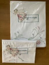 """Brand New The Little White Company """"Flowers and Fairies"""" Single Duvet Set"""