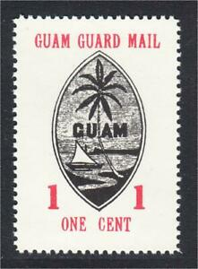 Guam Guard Mail Local Post 1980 50th Anniversary of Stamps 01 Cent Repro of M3