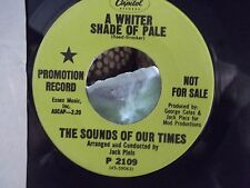 **PROMO**SOUNDS OF OUR TIME WHITER SHADE OF PALE/ LOOK OF LOVE CAPITOL RECORDS