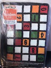 Aunt Lydia's #102 Vintage Rug Pattern NIP DIY Stitch Kit Numbers
