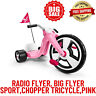 "Radio Flyer, Big Flyer Sport,Chopper Tricycle,16""Front Wheel,Pink,Ages 3-7 Years"