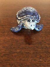 New ListingSmall Ceramic Turtle Trinket Box