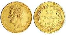 Louis-Philippe Ier - 20 francs tête nue tranche en creux 1830 A (Paris)