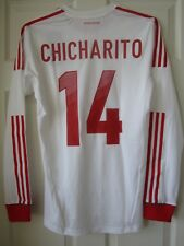 Adidas 11-12 Mexico Player Issue Formotion Soccer Jersey Chicharito Hernandez