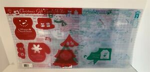 Hot Off the Press TEMPLATES 12x12 Arrows Circles Gift Card Holders Lot of 5