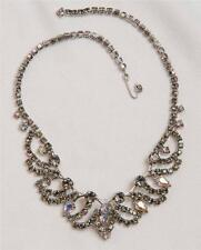 Vintage Crystal Necklace Jewelry tob