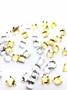 Ends Rings Lobster Clasps In Gold and Silver for Various Purpose Art & Crafts
