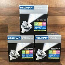 3 Megaman LED Reflector PAR30 E27 LR0215-100H24D 15W 2800k Energy Saving Bulbs