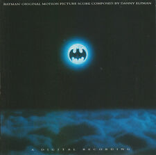 BATMAN by Danny Elfman SOUNDTRACK  CD  Pre Owned