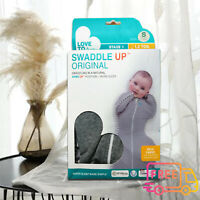 Love To Dream Swaddle UP, Gray, Small, 7-13 lbs, Dramatically Better Sleep Baby