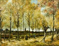 Vincent Van Gogh Poplars near Nuenen Van Gogh Home Decor Print on CANVAS Small