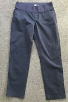 Maternity GAP Navy Blue Girlfriend Khaki Stretch Pants Size 10