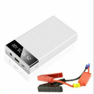 20000mAh Car Jump Starter Portable USB Power Bank Battery Booster Clamp Kit