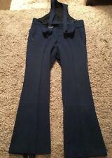 Vintage Edelweiss Blue Stirrup Ski Pants