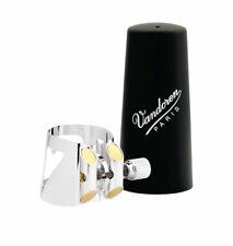 Vandoren Ligature & Contrabass Cap Bass Clarinet Silver+Plastic