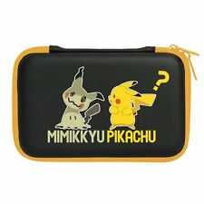 New Nintendo 3DS LL Hard Pouch Mimikkyu Pikachu Pokemon Game Case from Japan F/S