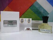CREED ORIGINAL VETIVER EAU DE PARFUM SPRAY 1.0 OZ / 30 ML BATCH CM4015X01 NIB