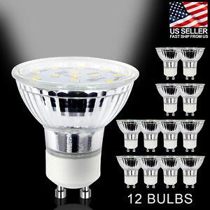 [12 PC] GU10 LED Light Bulb 120V 4W Energy Saving Daylight 5000K