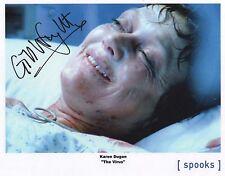 """Spooks MI-5 Auto Photo Print Gillian Wright """"Karen Dugan"""""""