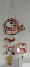 HELLO KITTY GARDEN WIND CHIME & STAKE SET NICE GIFT FREE USA SHIPPING NIB