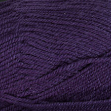 PLYMOUTH ENCORE REGAL PURPLE WORSTED WEIGHT YARN - 400 YARDS - 7 OUNCES